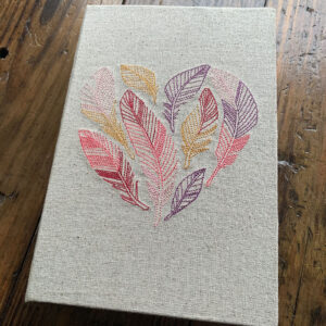feather heart journal